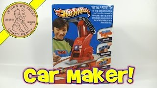 Hot Wheels Car Maker Set Create Your Own Hot Wheels Cars