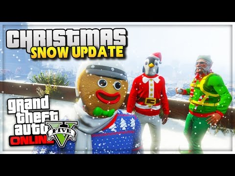 GTA 5 Online Snow DLC Snowball Fights! Update GTA Online Christmas GTA V PS4 (GTA 5 Funny Moments)