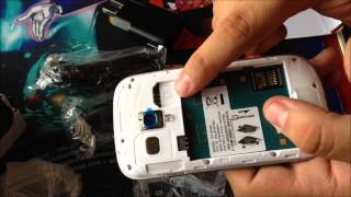 Unboxing Samsung Galaxy S3 Mini Clon //Chino