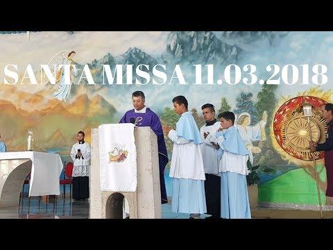 Santa Missa | 4° Domingo da Quaresma | 11.03.2018 | Padre Paulo Sérgio Mendes | ANSPAZ