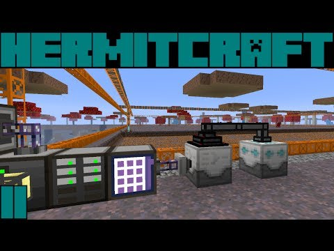 Hypno HermitCraft FTB Monster S3E11: Starting AE and Quarry!!!