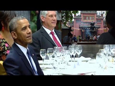 Thực đơn chiêu đãi Tổng thống Mỹ Obama, ngôi chùa nơi ông Obama ghé thăm tại Việt Nam