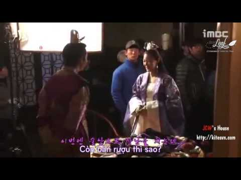 [Vietsub][LastLeaf Subbing Team] 지창욱 Ji Chang Wook Empress Ki- Behind the scene 16