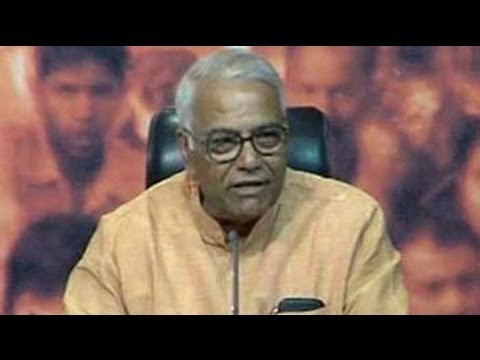 Chidambaram will be remembered as a spoiler: Yashwant Sinha