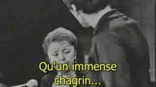 Edith Piaf et Théo Sarapo  - À quoi ça sert l'amour
