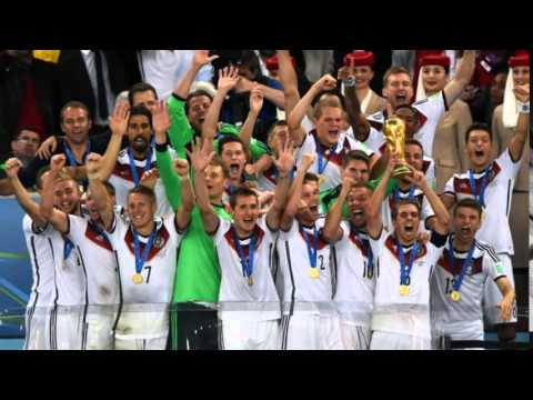 GERMANY WINS 2014 WORLD CUP TITLE (7/13/14)