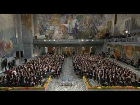 Liu Xiaobo won Nobel Peace Prize 2010-Ceremony-part1