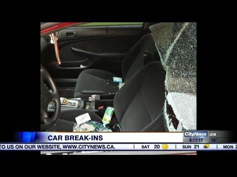 Video: Rash of vehicle break-ins have residents in Mississauga neighbourhood on edge