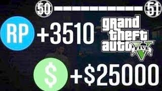GTA 5 Online Trick: Fast RP+MONEY From Potshot (Mission