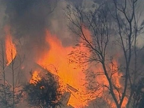 Australia wildfires: One dead, hundreds of homes destroyed near Sydney