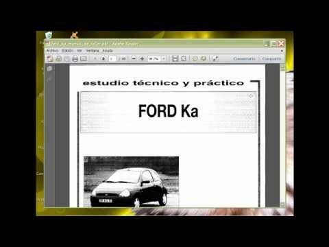descarga manual de reparacion y despiece de ford ka / fiesta 1.6