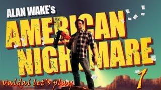 Прохождение игры Alan Wake's American Nightmare.