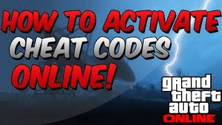 GTA 5 Online: How To Activate Cheat Codes Online!
