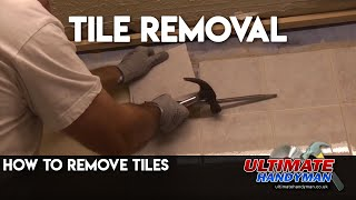 How to remove tiles