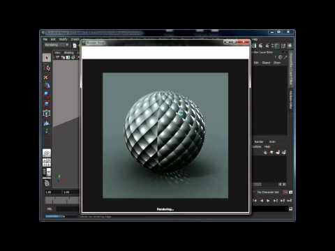 Render a mirrored normal map in mental ray with Maya