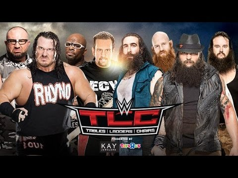 WWE 2K16 TLC 2015 - ECW Originals vs. The Wyatt Family