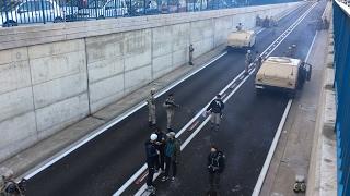 دبابات وعربات عسكرية في شوارع البيضاء