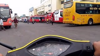 Cuộc Sống Sài Gòn - Bến Xe Miền Đông Về Chiều - Camera Hành Trình Sài Gòn