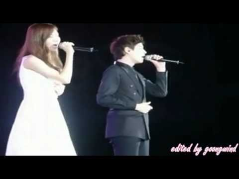 Seohyun & Kyuhyun - Call With All My Heart (0911SMTOWN LIVE 2010 Shanghai)