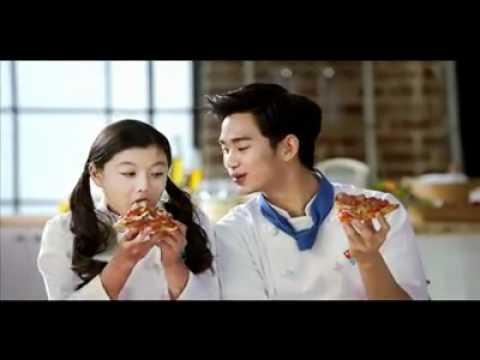[NG_Domino pizza] Kim Soo Hyun & Kim Yoo Jung