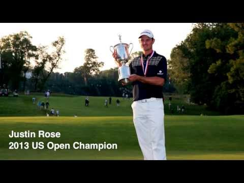 2013 US Open Champion Justin Rose: