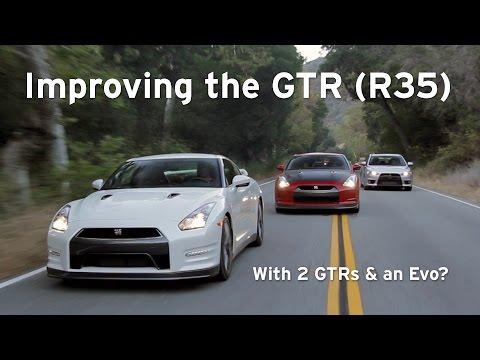 '14 GTR, '10 GTR, and Evo X, Godzilla goes to Finishing School - Everyday Driver