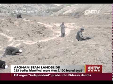 Afghan landslide rescue focuses on displaced families   CCTV News   CCTV com English