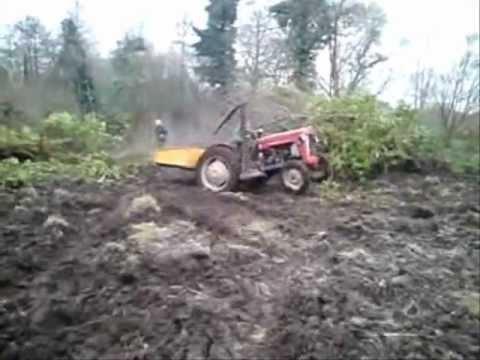 demo vieux tracteurs