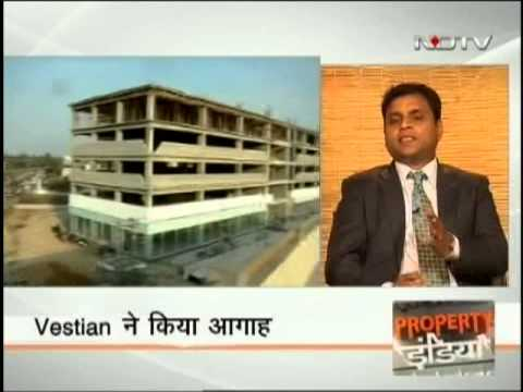 Shrinivas Rao, CEO-Asia Pacific, Vestian on NDTV Profit's Property India Show, 8th December 2013.