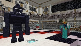 WALKER KING VS KING BABOOM: MINECRAFT FIGHTERS - Arena Battle