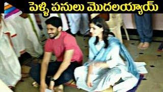 Samantha and Naga Chaitanya Pre Wedding Event -Visuals..