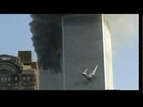 9/11~(Angle-1) 2nd Plane Pod Fires on WTC-2 (South Tower)