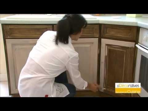 Peinture tendance cuisine les d coratives sur youtube - Moulures decoratives pour meubles ...
