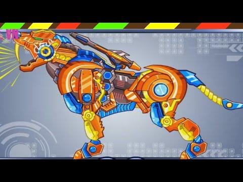Lắp ráp robot Khủng long chiến đấu - Robot Tiger