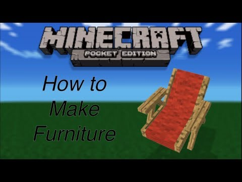 Furniture For Minecraft Pocket Edition Youtube