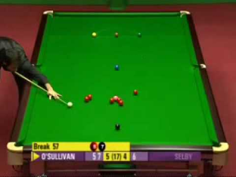 Welsh Open 2008 Final fr 10 Ronnie 135 Break