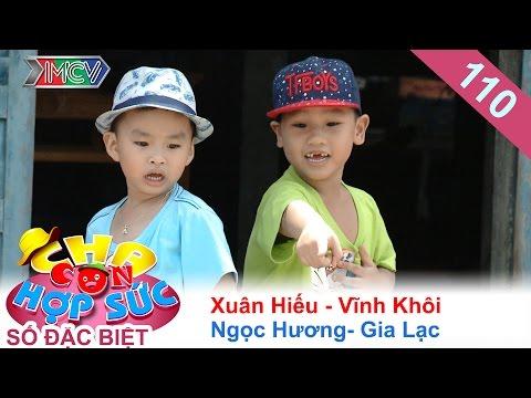 Xuân Hiếu - Ngọc Hương dắt con về quê bán đậu phộng dạo | CHA CON HỢP SỨC | Tập 110 | 13/08/2016