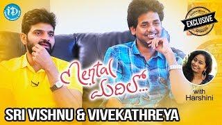Actor Sri Vishnu & Director Vivek Athreya Exclusive Interview