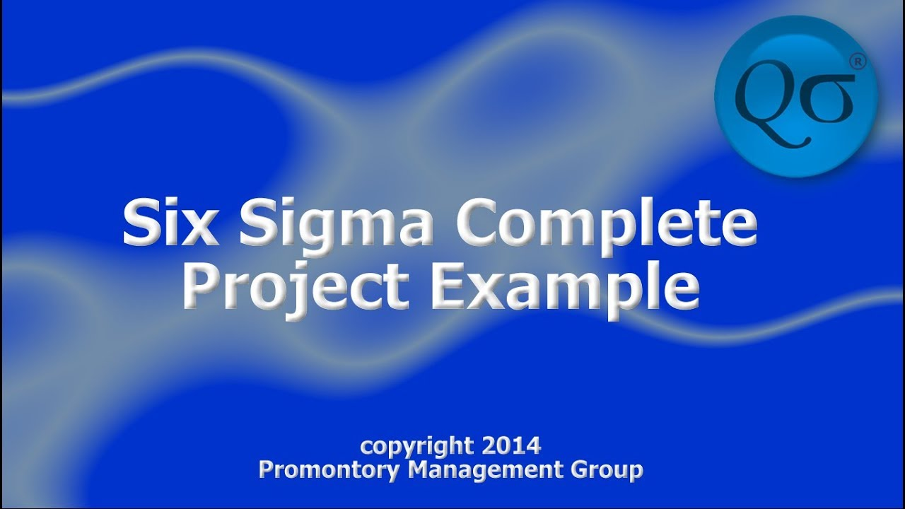 Six sigma complete project example hd youtube for Six sigma black belt project template