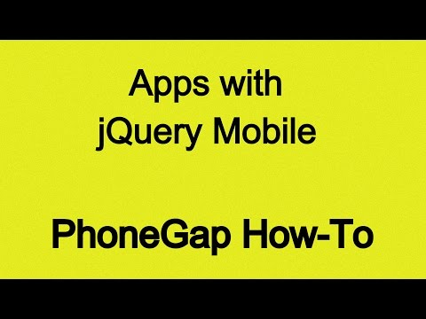 Build PhoneGap Apps with jQuery Mobile