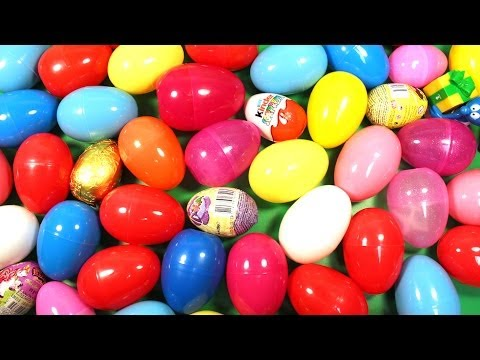 Surprise Eggs Kinder Surprise Angry Birds Mickey Mouse Cars 2 Huevo Kinder sorpresa