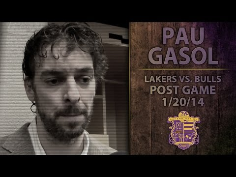 Lakers Vs. Bulls: Pau Gasol On Nick Young, Kobe Comparisons, Taj Gibson's Open Layup
