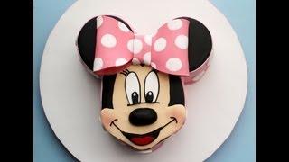 Paso A Paso Tarta De Minnie Mouse. Primera Parte