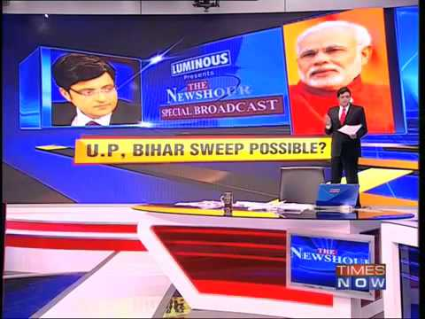Times Now Exit Polls Narendra Modi within reach