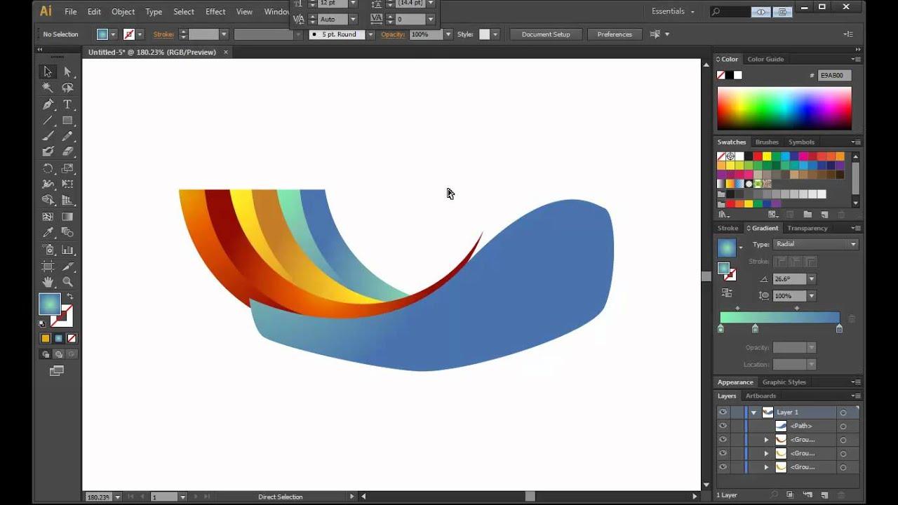 illustrator cs6 logo design tutorial archfold youtube