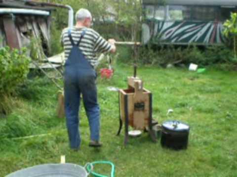 Apfelbrannt destille im garten youtube - Gartensitzgruppe selber bauen ...