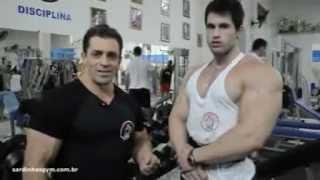 Fernando Sardinha Treino Para Bíceps Parte 1