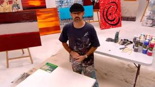 LEARN TO PAINT-Art Lessons ,abstract Modern Contemporary