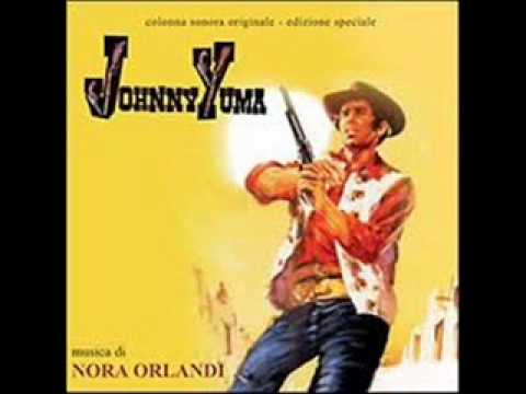 "Johny Yuma - Johny Yuma - Nora Orlandi.wmv, The theme from the soundtrack to ""Johnny Yuma"" composed by Nora Orlandi. ""Johnny Yuma"" is a 1966 Italian spaghetti western directed by Romolo Guerrieri. It stars Mark Damon, Rosalba Neri, and Lawrence Dobkin."