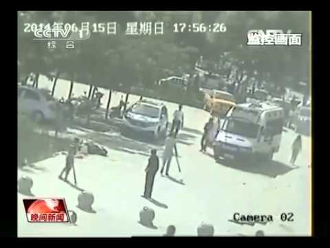 Terrorist Attack in Xinjiang Stopped by Local Heroes 新疆和田 警民联手,80秒制伏行凶歹徒